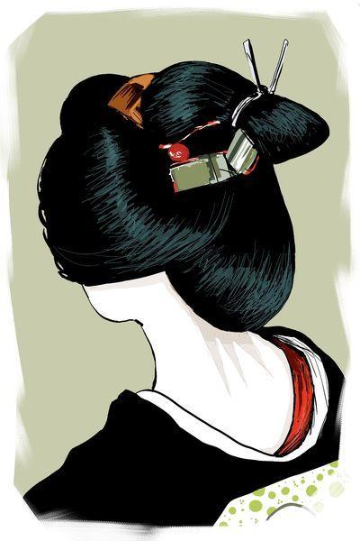 Geisha De Dos page - les geisha