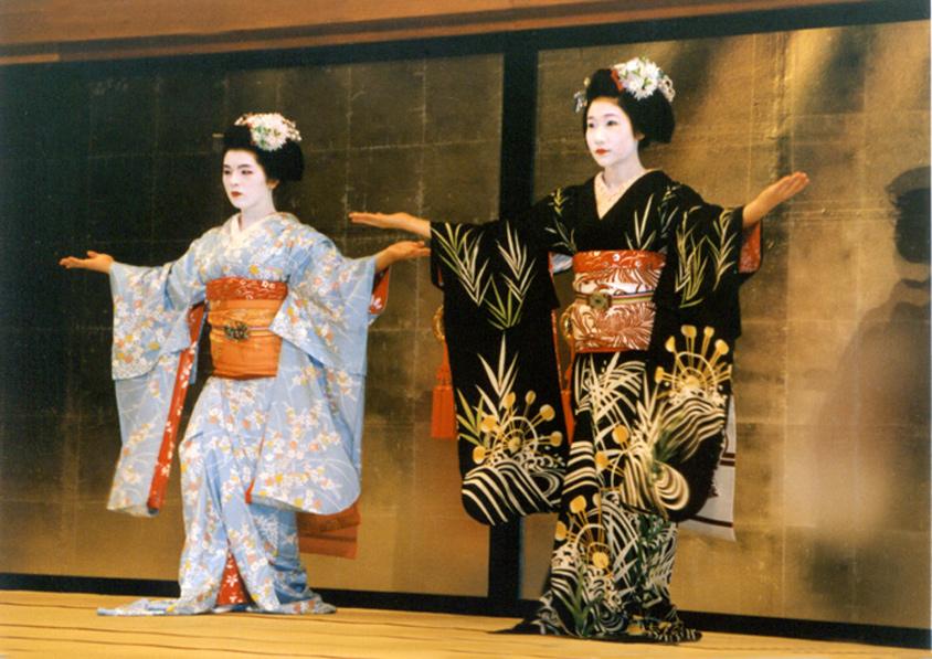 Page Les Geisha